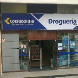 Droguería Colsubsidio Calle 72 en Bogotá