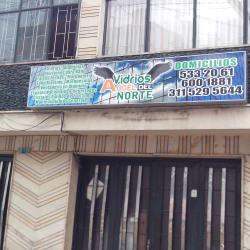 Vidrios Ángel del Norte en Bogotá