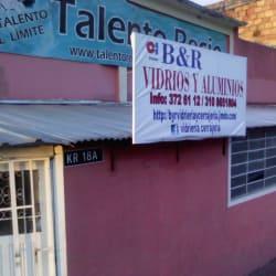 B&R Vidrios y Aluminios en Bogotá