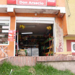 Tienda Don Arsecio en Bogotá