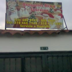 Banquetes Rico y Sabrosón en Bogotá