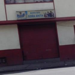 Barra bar Doña Anita en Bogotá