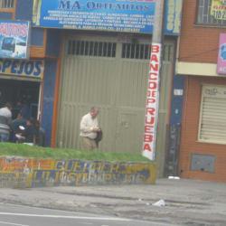 Banco de Prueba Ma-Orteautos en Bogotá