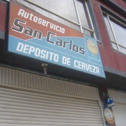 Autoservicio San Carlos depósito de cerveza en Bogotá
