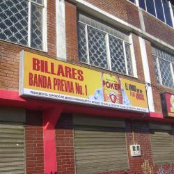 Billares Banda Previa # 1   en Bogotá