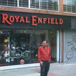 Royal Enfield en Bogotá