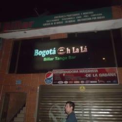 Billar Tanga Oh La Lá en Bogotá