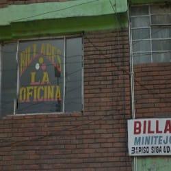 Billares La Oficina en Bogotá