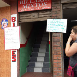Billares Mixtos Calle 17 en Bogotá