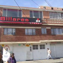 Billares Mixtos Calle 4D en Bogotá