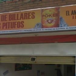 Salón De Billares Los Pitufos en Bogotá