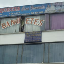 Banquetes Casa Fernanda en Bogotá