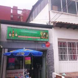Licorera y Supermercado La Gran Ginebra en Bogotá