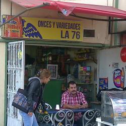 Onces y Variedades La 76 en Bogotá