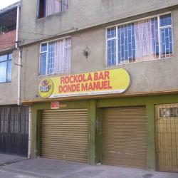 Rockola Bar Donde Manuel en Bogotá