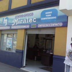 Centro óptico Miralec en Bogotá