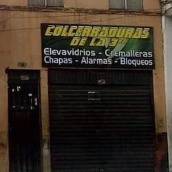 Colcerraduras de la tercera en Bogotá