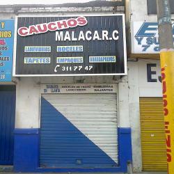 Cauchos malaca R.C en Bogotá
