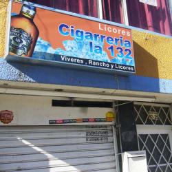 Cigarrería La 132 en Bogotá