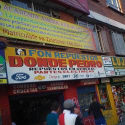 Fon Repuestos Donde Pedro en Bogotá