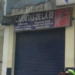 Carnitas de la 69 en Bogotá