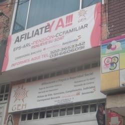 Afiliaciones GEH en Bogotá