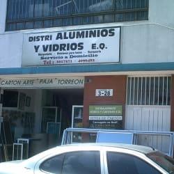 Distrialuminios y Vidrios EQ en Bogotá