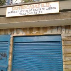Districajas E.U en Bogotá