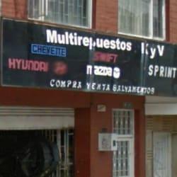 Multirepuestos K&V en Bogotá