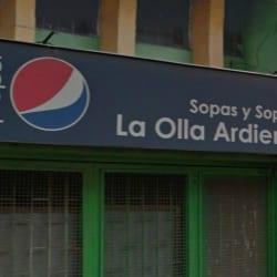 Sopas y Sopitas La Olla Ardiente en Bogotá