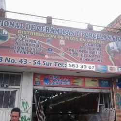 Nacional de Cerámicas y Porcelanatos en Bogotá