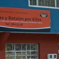 Espumas y Retales Por Kilos en Bogotá