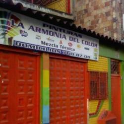 Pinturas La Armonía del Color en Bogotá