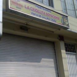 Piqueteadero La Criollita Boyacense en Bogotá