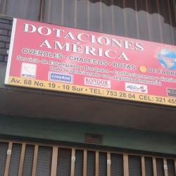 Dotaciones América en Bogotá