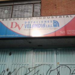 Dotaciones DV Velandia en Bogotá