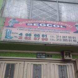 Dotaciones Industriales Segcol en Bogotá
