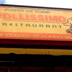 Fuente de Soda Pollisimo en Santiago