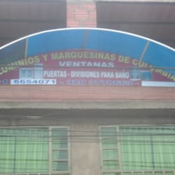 Aluminios y Marquesillas de Colombia en Bogotá