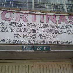 Cortinas Carrera 8 con 22A en Bogotá