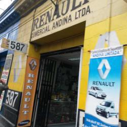 Comercial Andina en Santiago
