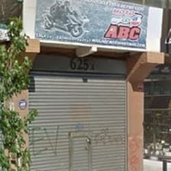 Moto ABC en Santiago
