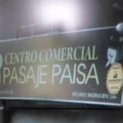 Centro comercial pasaje paisa en Bogotá