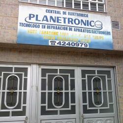 Central de Electronica Planetronic en Bogotá