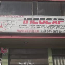 Centro de Enseñanza Automovilística Incocap en Bogotá