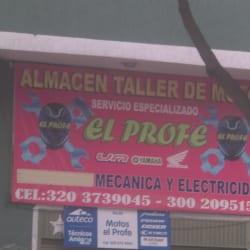 Almacén Taller de Motos El Profe en Bogotá