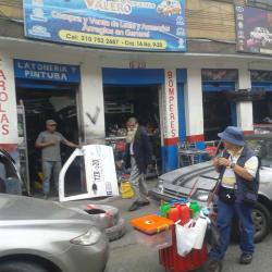 Centro repuestos valero en Bogotá