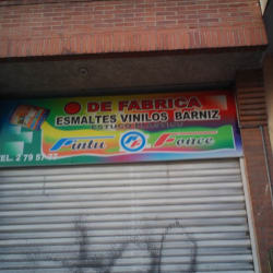 Punto de Fábrica Esmaltes Vinilos Barniz en Bogotá