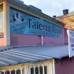 Talento Recio en Bogotá