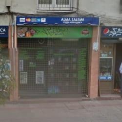 Alma Salen, tostaduría  en Santiago